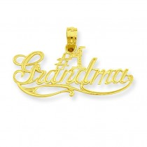 Grandma Pendant in 14k Yellow Gold