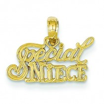 Special Niece Pendant in 14k Yellow Gold