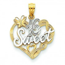 Sweet Pendant in 14k Yellow Gold