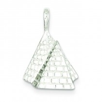 Pyramids Pendant in Sterling Silver