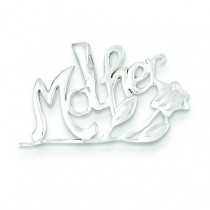 Mother Charm in Sterling Silver
