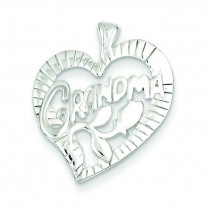 Grandma Charm in Sterling Silver