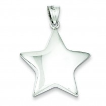 Star Charm in Sterling Silver