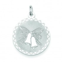 Wedding Bells Charm in Sterling Silver