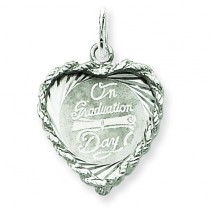 On Graduation Day Charm in Sterling Silver