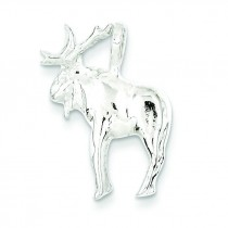Moose Charm in Sterling Silver