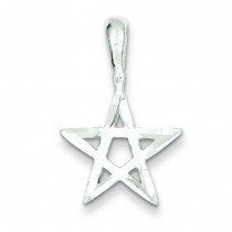 Star Pendant in Sterling Silver