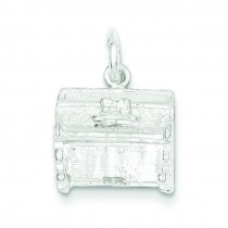 Piano Charm in Sterling Silver