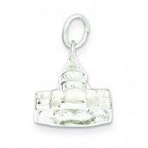 Capitol Building Charm in Sterling Silver