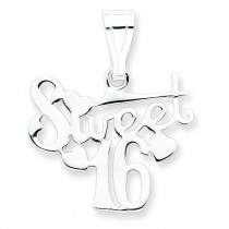 Sweet Pendant in Sterling Silver