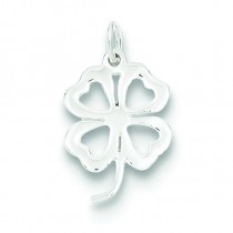 Clover Charm in Sterling Silver