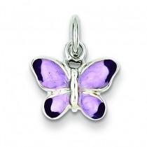 Rhoda Purple Butterfly in Sterling Silver