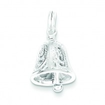 Bell Charm in Sterling Silver