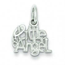 Little Angel Charm in Sterling Silver