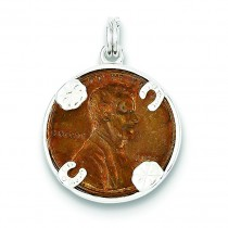 Penny Charm in Sterling Silver