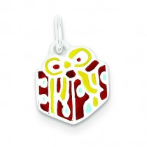 Gift Charm in Sterling Silver