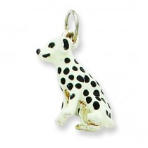 Dalmatian Charm in Sterling Silver