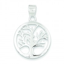 Tree Pendant in Sterling Silver