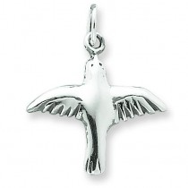 Dove Charm in Sterling Silver