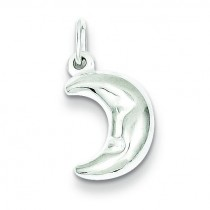 Half Moon Charm in Sterling Silver
