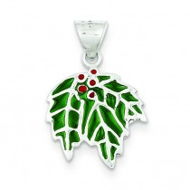 Mistletoe Charm in Sterling Silver