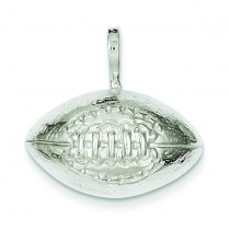 Football Charm in Sterling Silver