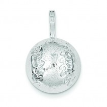 Baseball Charm in Sterling Silver