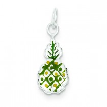 Pineapple Charm in Sterling Silver