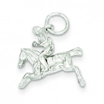 Bronco Charm in Sterling Silver
