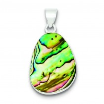 Pear Shaped Pendant in Sterling Silver