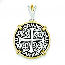 Chinese Symbols Pendant in Sterling Silver