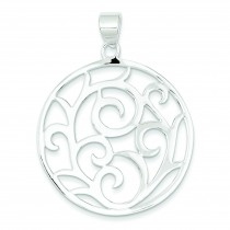Fancy Pendant in Sterling Silver