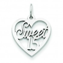 Sweet Charm in 14k White Gold