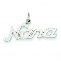 Nana Charm in 14k White Gold
