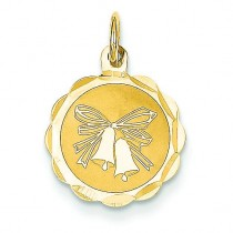 Wedding Bells Charm in 14k Yellow Gold