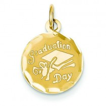 Graduation Cap Charm in 14k Yellow Gold