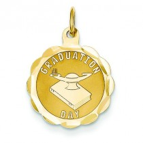 Graduation Day Charm in 14k Yellow Gold