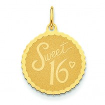 Sweet Charm in 14k Yellow Gold