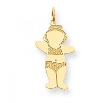 Cuddle Charm in 14k Yellow Gold