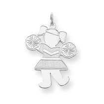 Hip Hooray Cuddle Charm in Sterling Silver