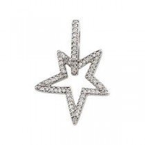 Diamond Pendant in 14k White Gold (0.375 Ct. tw.) (0.375 Ct. tw.)