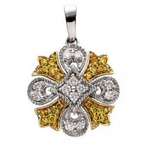 Diamond Pendant in 14k Yellow Gold (0.25 Ct. tw.) (0.25 Ct. tw.)