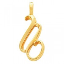 Fashion Pendant in 14k Yellow Gold
