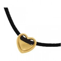 Fashion Heart Pendant in 14k Yellow Gold