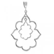Decorative Pendant in Sterling Silver