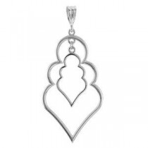 Decorative Pendant in Sterling Silver