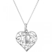 My Adopted Child Necklace in Sterling Silver