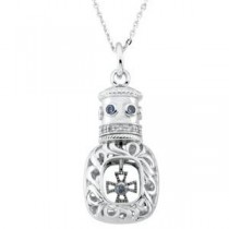 Window Of OpportunityTrade Pendant Chain in Sterling Silver