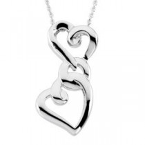 My Mother Forever My FriendTrade Pendant Chain in Sterling Silver