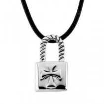 The CovenantTrade Son Pendant Cord in Sterling Silver